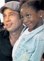 Брэд Питт стал отцом 109 семейств