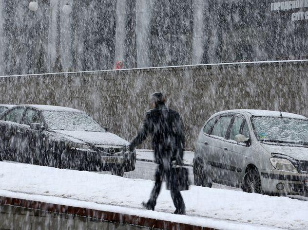 Небольшой снег придет встолицу впоследний день рабочей недели