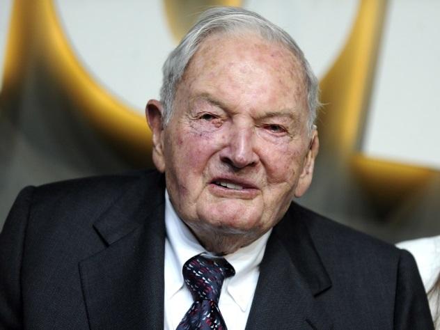 Американский миллиардер Дэвид Рокфеллер ушел изжизни ввозрасте 101 года