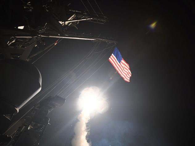 Ракетным ударом США поСирии руководила женщина— Дьявол вюбке