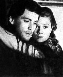 Увидев картину «Дорога домой», ГЕРАСИМОВ не мог выбросить очаровательную исполнительницу главной роли из головы (на фото с Владимиром ИВАШОВЫМ, 1969 г.)