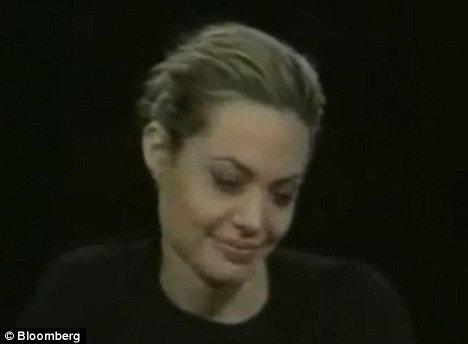 Актриса перепрыгивала с темы на тему...