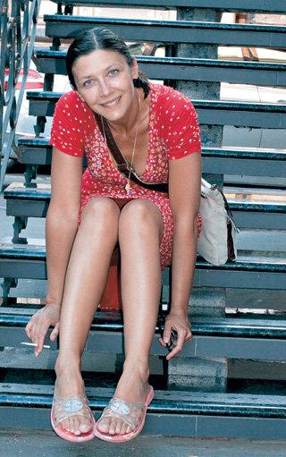 Татьяна АПТИКЕЕВА к родителям в Одессу ездит каждое лето (2009 г.)