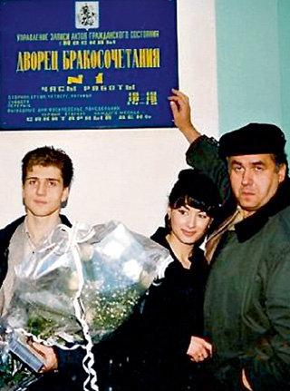 На свадьбе Андрея и Тины Стас был свидетелем (1998 г.)