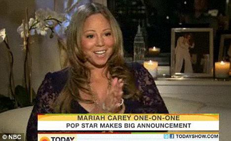 Счастливую новость звезда сообщила во время записи программы Today Show