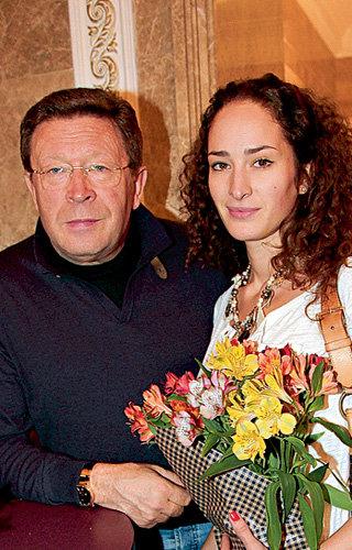 Лиза с папой Георгием
