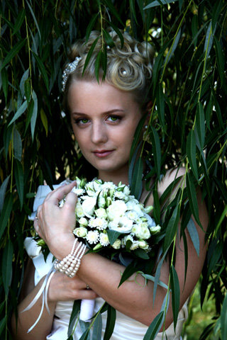 Красавица Алина - теперь девушка замужняя