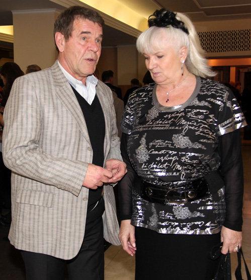 Алексей БУЛДАКОВ с женой ЛЮДМИЛОЙ