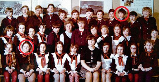 Уже в 5 классе пионеры Ромчик и Оля НАСЫРОВА были закадычными друзьями