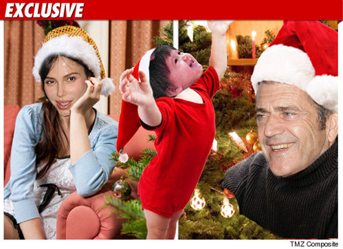 Люсия отметит новый год и с мамой, и с папой. Коллаж TMZ