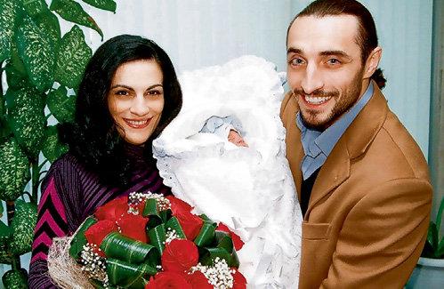 Алексей ЛОСИХИН с женой и сыном