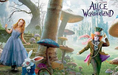 Миа ВАСИКОСА и Джонни ДЕПП с блеском сыграли в сказке «Алиса в Стране чудес»