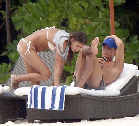 Влюбленные провели новогодние каникулы на Мальдивах. Фото: Splash/All Over Press