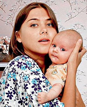 В середине февраля Фрося (МАКАРОВА) родит дочку (фото my.mail.ru)