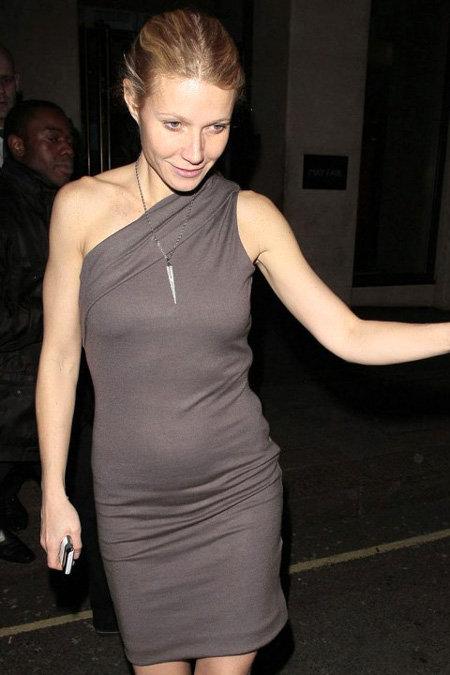 Гвинет ПЭЛТРОУ посетила вечеринку в одном из Лондонских отелей