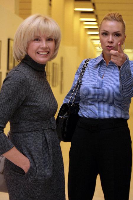 Ирина ВИРГАНСКАЯ с дочерью Ксенией