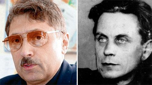 На кого больше похож замглавы «Роспатента» Сергей ЛУКНИЦКИЙ (на фото слева):  на Михаила КОЗАКОВА или на писателя Павла ЛУКНИЦКОГО (на фото справа), который в метрике значится его отцом, судить вам, дорогие читатели (фото fips.ru, lib.ru)