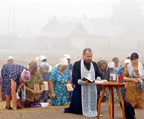 С принятием нового закона людям во время пожара только и останется, что молиться