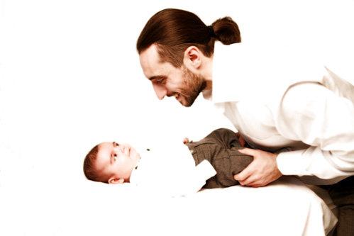С сыном Арсением