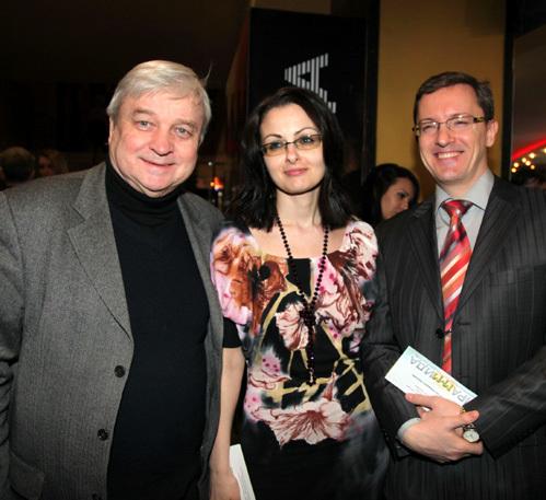 Александр СТЕФАНОВИЧ, Андрей БУХТИЯРОВ с женой Натальей