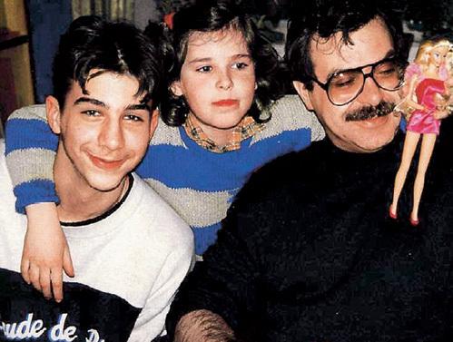 Андрей Львович с детьми: Иваном и Марией