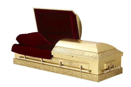 Жа Жа уже заказала для себя золотой гроб