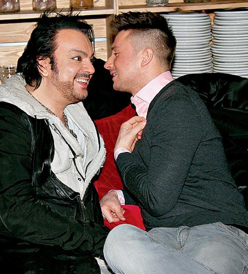 КИРКОРОВ и ЛАЗАРЕВ своим примером доказывают, что в нашем шоу-бизнесе есть место настоящей мужской дружбе!