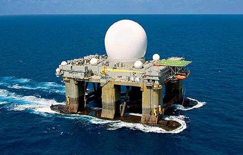 Удар по атомной станции был нанесен с плавучей платформы «Sea-Based X-Band Radar platform»...