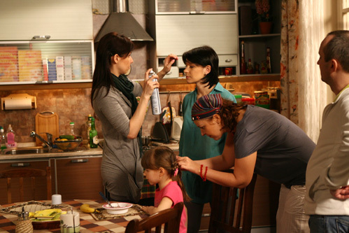 Съёмки сериала «Воронины»