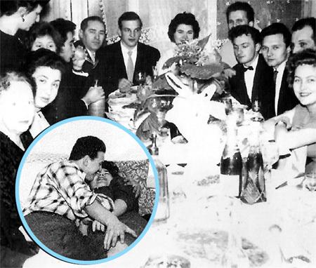 Свадьба Алексея и Аллы: молодожёны буквально» не могли надышаться друг на друга (в круге)