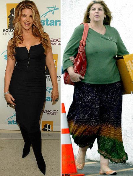 Актриса весила вдвое больше, чем сейчас