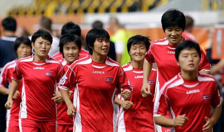 Северокорейским женщинам запретили выступать на Кубке мира. Фото capa.ws
