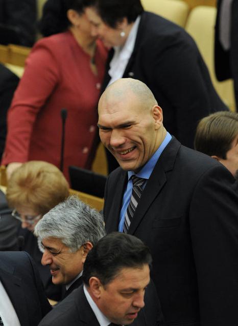 Николай ВАЛУЕВ против ограничений прав профессиональных бойцов. Фото: «РИА Новости».