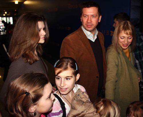 Андрей МЕРЗЛИКИН с семьёй