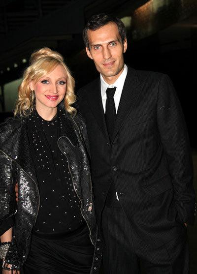 Кристина ОРБАКАЙТЕ с мужем Михаилом ЗЕМЦОВЫМ (Фото Ларисы Кудрявцевой)