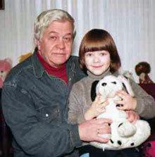 Владимир Иванович с сыном Ванечкой