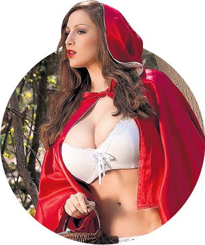 Столичные путаны тоже поймали сказочную волну и готовы изобразить хоть Красную Шапочку...