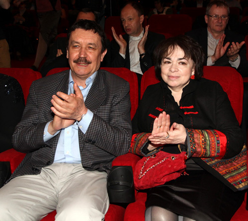 Вадим АБДРАШИТОВ с женой
