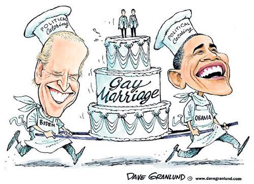 Вице-президент США Джозеф БАЙДЕН и президент Барак ОБАМА выступили за поддержку однополых браков дружно, как одна семья