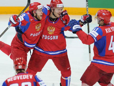 Подписи к фото: сборная России – сильнейшая в мире! Фото: «РИА Новости».