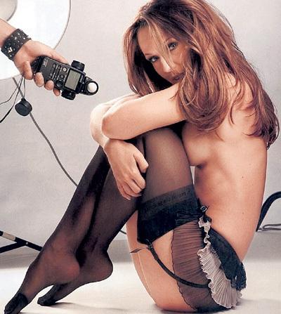 ...сразу после этого братья МЕЛАДЗЕ повысили её - из девушки на подпевках сделали солисткой группы «ВИА Гра» (фото Playboy)