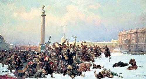 В 1905 году царский режим не церемонился с митингующими: колонну питерских рабочих с петицией государю встретили солдаты с ружьями и казаки с шашками