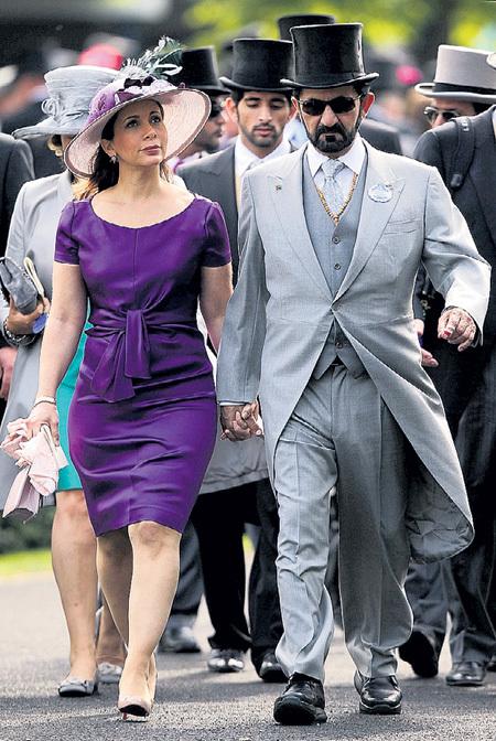 Шейх Дубая Мохаммед ибн Рашид аль-МАКТУМ с принцессой Майей ибн аль-ХУССЕЙН так же, как и АБРАМОВИЧ с Дашей ЖУКОВОЙ, любят тусоваться в Лондоне