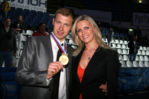 Александр ЕРЕМЕНКО с женой