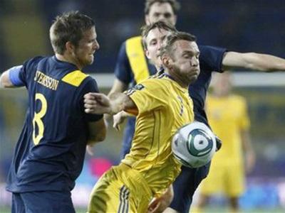 Украинцы обыграли Шведов. Фото: «РИА Новости»