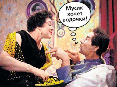 Зоя с Сергеем ФИЛИППОВЫМ в ленте «Девушка без адреса»