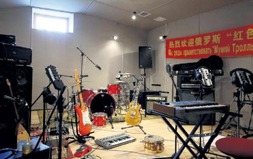 Наличие музыкальной студии весьма привлекательно для потенциальных покупателей