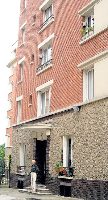 В этом доме на севере Парижа у ЗАЦЕПИНА уютная квартира