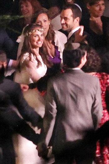 КАЛКИН был в числе приглашенных на свадьбу Натали ПОРТМАН, которая прошла по еврейским канонам