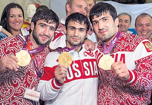 Все российские золотые медалисты по дзюдо - кавказцы, а главный тренер сборной Эцио ГАМБА - итальянец